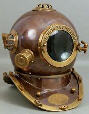 Diving Helmet US Navy Mark V Deep Sea Marine Divers Antique Scuba SEA Divers A4