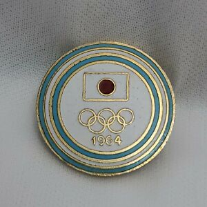 Vintage Olympic Pin Badge Japan 1964 Argentina