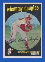 1959 Topps #431 Whammy Douglas Cincinnati Reds EX-MT