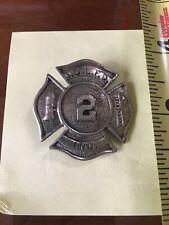 1915 O.C.L.F.D Sherrill NY Fire Dept. Fireman's Badge Pin Oneida Ltd Kenwood NY