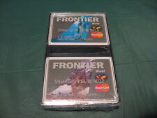 Vintage FRONTIER World MasterCard Credit Card 2-Pack Playing Cards NEW!