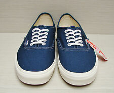 Vans Authentic Vintage Dark Denim Marshmallow Men's Size 6.5