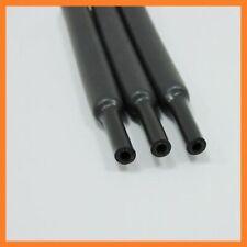 3:1 Φ6.4mm Black Dual Wall Adhesive Lined Heat Shrink Tubing Sleeving Cable