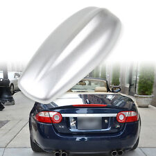 Jaguar Style Shark Fin Aerial Dummy Antenna Painted Silver Universal Fit XKR XFR