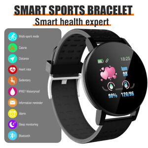 Bluetooth Smart Watch Fitness Tracker Sport Uhr Puls Armband Wasserdicht IP67