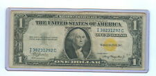 1935-C ONE DOLLAR SILVER CERTIFICATE NORTH AFRICA EMERGENCY NOTE - CIR