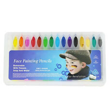 16Colors Face Painting Pencils Splicing Face Paint Christmas Body Painting PenFT