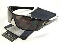 Oakley Antixx Black Grey Sonnenbrille Hijinx Pit Bull Batwolf Oil Drum Rig Plate