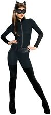 Ladies Sexy Classic Catwoman DC Comics Film Halloween Fancy Dress Costume Outfit