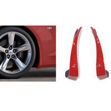 OEM NEW Front Splash Guard Mud Flap Red Hot G7C 16-20 Chevrolet Camaro 23436518