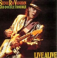 STEVIE RAY VAUGHAN AND DOUBLE TROUBLE live alive (CD album) blues rock 466839 2