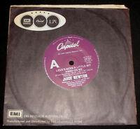 JUICE NEWTON 45 - LOVE'S BEEN A LITTLE BIT HARD ON ME - 1980s POP