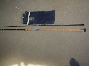 vintage hardy fibalite 10ft spin rod,carp,pike,salmon,sea trout superb