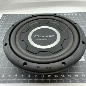 Tested Pioneer TS-SW3001S2 12 inch 1500w Car Subwoofer Shallow Mount 2 Ω