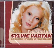 CD 14T SYLVIE VARTAN L'ESSENTIEL BEST OF 2001 NEUF SCELLE