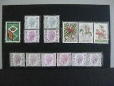 timbres belgique : 1974 cob n° 1746 à 1755p **