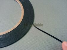 0.5mm Thick, 2mm Wide, Two Sides Adhesive Black Sponge Tape for Phone Dust Proof