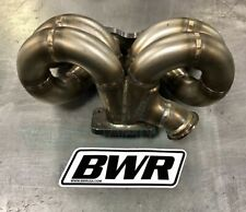 Blackworks BWR T3 44mm Wastegate Ram Horn Turbo Manifold for 06-11 Civic Si K20