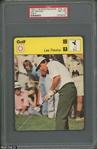 1977-79 Sportscaster Golf #18-22 Lee Trevino Italy PSA 8 NM-MT