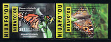 Niuafo'ou - 2015 Butterflies EMS Rates Part 2 Postage Deluxe Stamp Set
