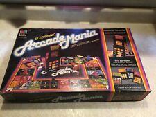 Vintage Electronic Arcade Mania Board Game Milton Bradley 1983 Tested & Working