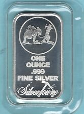 SILVER TOWNE ONE OUNCE .999 FINE SILVER BAR  (MM685-8)