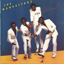 Manhattans ‎– Too Hot To Stop It    new cd in seal    incl. bonustracks