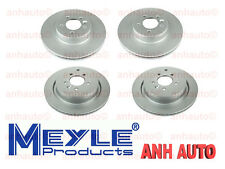 Front and Rear Disc Brake Rotors Land Rover LR3 05-09 4.4L Meyle