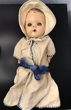 """Vintage Antique 1955 Gerber Baby Doll 12"""" Made By The Sun Rubber Co. And Clothes"""