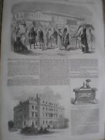 Cavalry College Richmond 1857 print and article