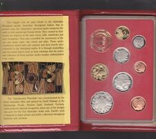 1990 Australia Proof Coin Set in Folder with Box & Certificate Coin Fair Issue