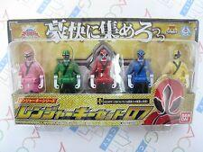 Power Ranger Kaizoku Sentai Gokaiger Ranger Key Series Set 07 Bandai Japan