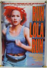 Run Lola Run Ds Rolled Orig 1Sh Movie Poster Franka Potente Tom Tykwer (1998)