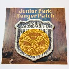 Junior Ranger National Park Souvenir Patch Faux Badge for Halloween Costume