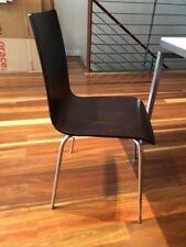 Set of 6 Cafe style dining chairs.