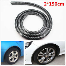 2*150CM Universal Auto Car Wheel Eyebrow Sticker Fender Flare Protector Strips