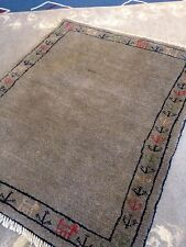 Persian fine Gabbeh area Rug Hand Knotted 3' X 4' A+ Tribal Authentic Nomadic