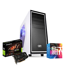 PC GAMING DESKTOP i7 SSD 240GB RAM 8 GB DDR4 VIDEO GTX 1050 2GB WINDOWS 10 PRO