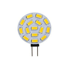2pcs  G4 LED Reading Light 480Lm 15 SMD 5630 Cabinet LED White Bulb Lamp 12V