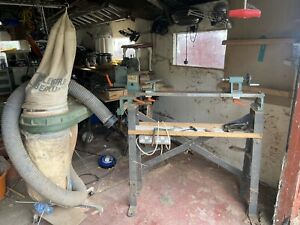 Wood Lathe And Electric Dust Extractor