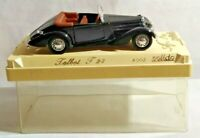 SOLIDO AGE D'OR 1:43 SCALE TALBOT T23 - BLACK - #4003 - CASED - 2 MISSING LIGHTS