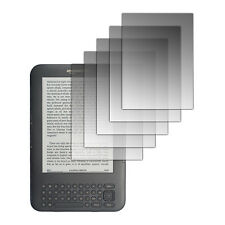 5-Pack LCD Screen Protectors for Amazon Kindle 3