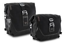 SW Motech Legend Gear Saddle Bag Kit to fit Yamaha XSR700 - Black Edition