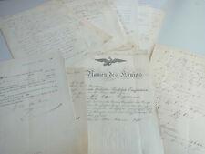 15 Dokumente Berlin / HANNOVER 1863-70, Laufbahn Ober-Post-Kassen-Buchhalter