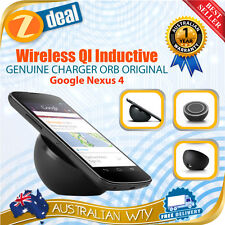 GOOGLE NEXUS 5 4 WIRELESS QI INDUCTIVE GENUINE CHARGER ORB ORIGINAL SHIP FR MELB