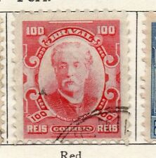 Brazil 1906 Early Issue Fine Used 100r. 097284