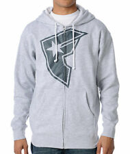 Limited Edition Famous Stars & Straps OG ZipUp Hoodie Grey Marl Urbanstreet Wear