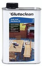 Glutoclean Teak - und Hartholz Öl 1l Holz Pflege