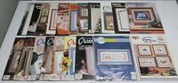 CROSS STITCH PATTERNS AND MAGAZINES / LARGE  LOT / GOOD CONDITION (lot 1)