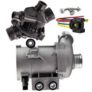Electric Water Pump + thermostat for BMW E60 E90 E82 E83 11517586925 n51 n52 n53
